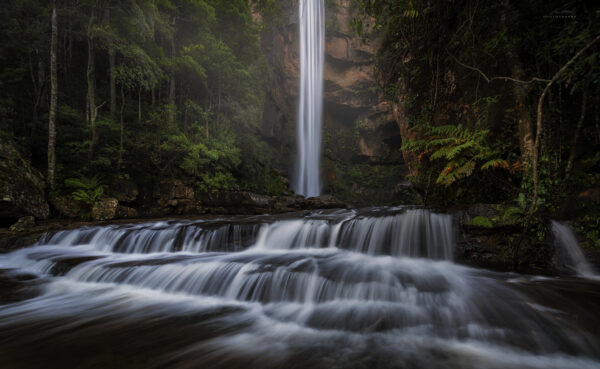 A waterfall in the NSW Southern Highlands