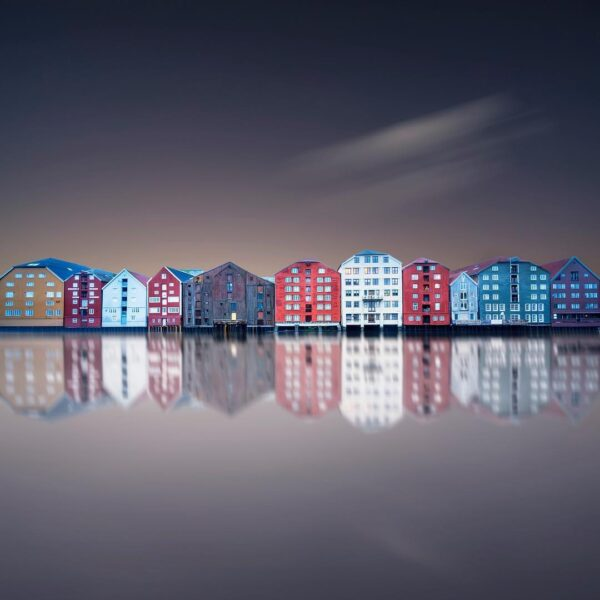 Long Exposure of Trondheim