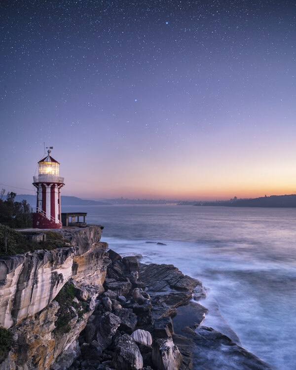 Daybreak over Hornby Lighthouse
