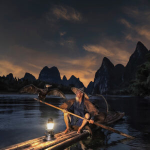 Cormorant Fisherman in China