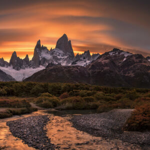 Sunrise over Patagonia