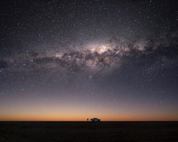 Milky Way in outback Australia