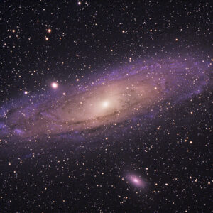 Andromeda Galaxy space shot